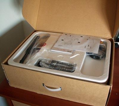 Abriendo la caja